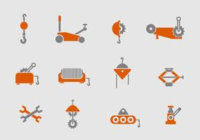vinsch ikoner uppsättning vektor