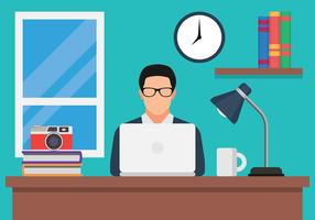 Blog Creator bei Computer Vector