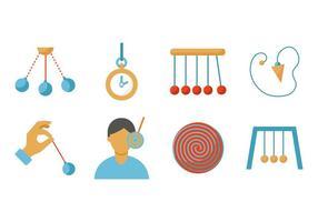 Kostenlose Hypnose Icons Vector