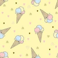 glass i en våffelkopp