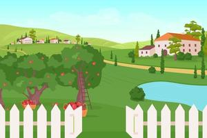 hus på jordbruksmark