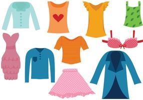 Kostenlose Kleidung Vektoren