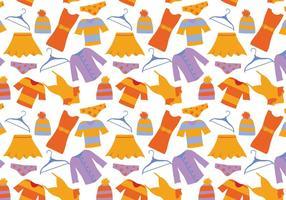 Kostenlose Kleidung Muster Vektoren