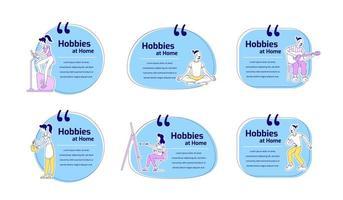 hobbies hemma offert set