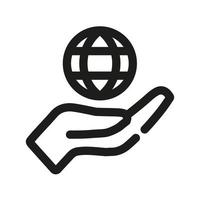 globales Versicherungssymbol