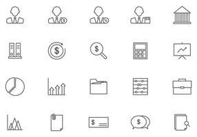 Kostenlose Buchhaltungsvektoren vektor
