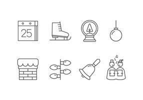 Juldags Set Icons