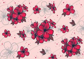 Pflaumenblüte-klassische Muster