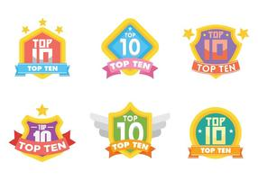 Top 10 Vektor-Icons vektor
