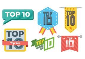 Top 10 Vektor-Icons