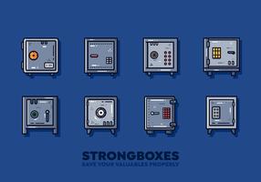 Kostenloser Strongbox-Vektor vektor