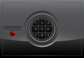 Safebox-Vektor vektor