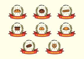 Brioche Logo Mall Vector