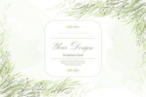 blommig inbjudningskort