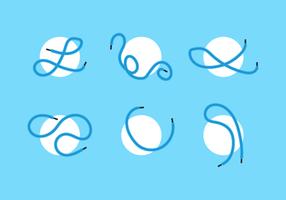 shoestring gratis vektor ikon pack