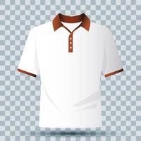Shirt Branding Modell vektor