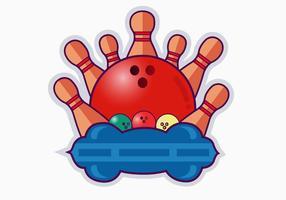 Bowling Pin Vektor