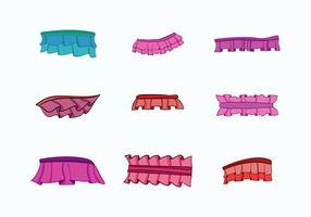 Frills-Vektor-Sammlung vektor