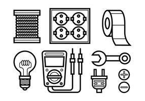Lineman Vektor-Icons
