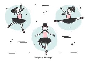 ballerinas vektor