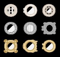 Bullauge Icons Vektor