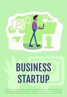 Unternehmensgründungsplakat