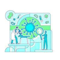 Virologie Wissenschaftslabor
