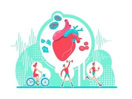 Gesundheitsversorgung des Herz-Kreislauf-Systems
