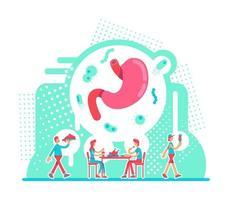 magsjukvård vektor