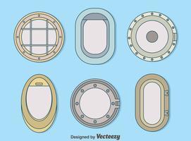 variation porthole samlingsvektor