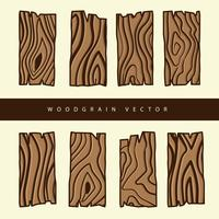 Woodgrain-Vektor vektor