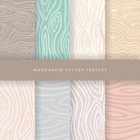 Woodgrain-Vektor-Pack vektor