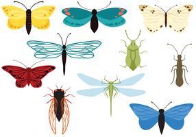 Kostenlose Insekten-Vektoren vektor