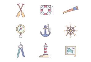 Schiff Icon Set