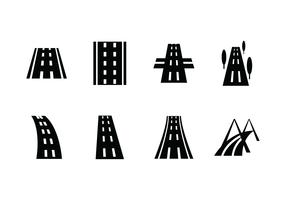 Highway vektor ikon