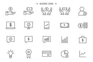 Kostenlose Einnahmen-Vektoren vektor