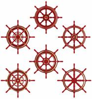 Schiffsrad-Vektoren vektor
