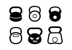 Wasserkocher Glocke Vektor festgelegt