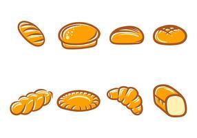 bröd vektor ikon