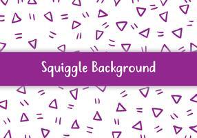 Squiggle Hintergrund