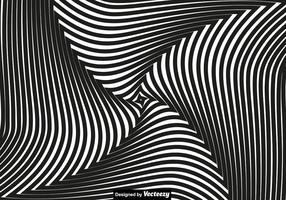 Vektor-Konzept für Hypnose. Schwarze Spirale vektor
