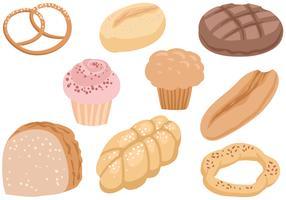 Freie Brote 2 Vektoren