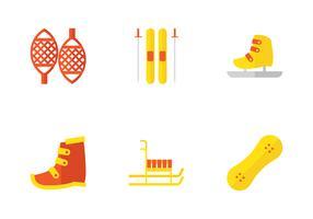 Fußausrüstung für Schnee