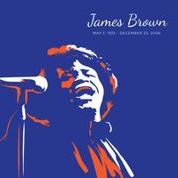 James Brown Pop Art kostenlose Vektor