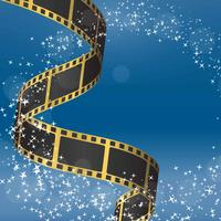 Film-negativer Hintergrund-Vektor vektor