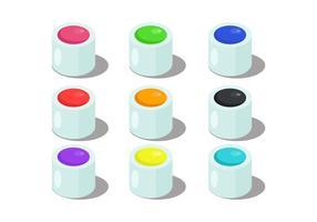 Väggfärgvektorer