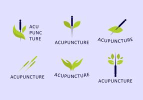 Akupunkteur-Logo-Set