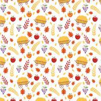 Gratis Harvest Pattern Vector