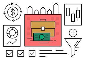 Linjära webb- och affärsdelar