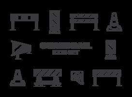Leitplanke Vektor